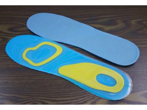Gel - Einlegesohlen für Schuhe Größe 38 - 42