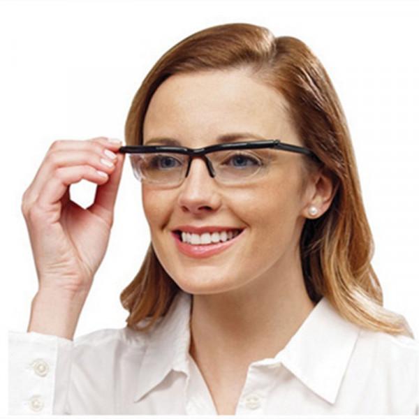 Brille individuell einstellbare dioptrien