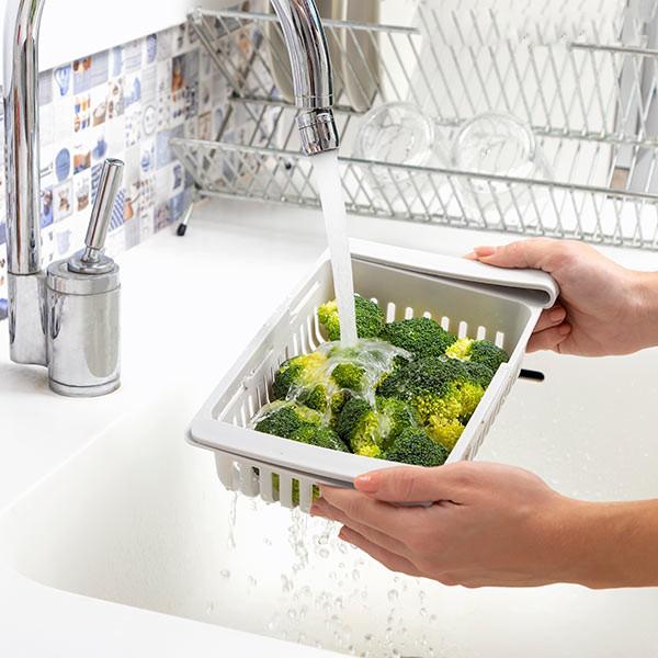 Kühlschrank Organizer Aufbewahrungsboxen ausziehbar 4er Set