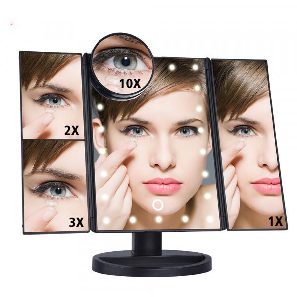 Makeup Spiegel mit 22 LED